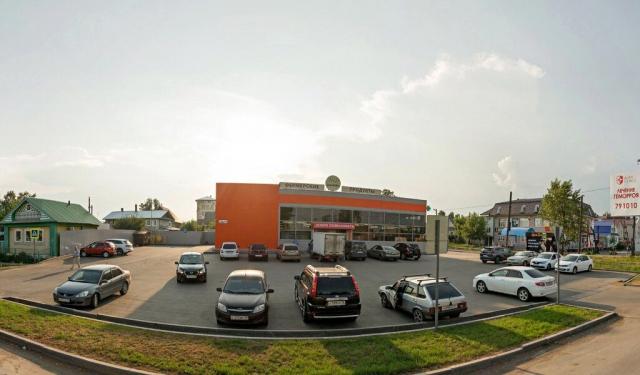 Постановка на кадастровый учет магазина продовольственных товаров, г. Ижевск, ул. Азина, д. 152