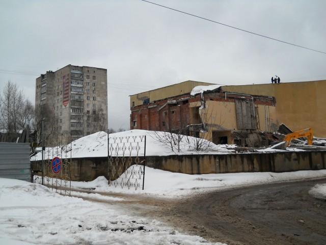 Техническое обследование строительных конструкций объекта: Кинотеатр «Октябрь» в г. Ижевске